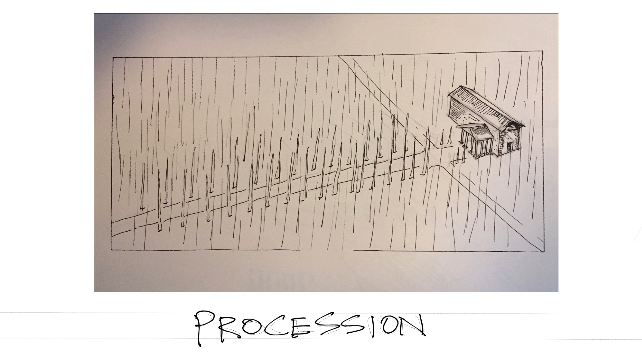 Flashcard: Procession