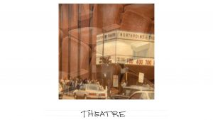 Flashcard: Theatre